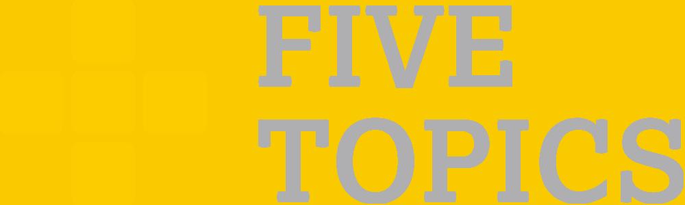 Five Topics Consulting Partner Logo