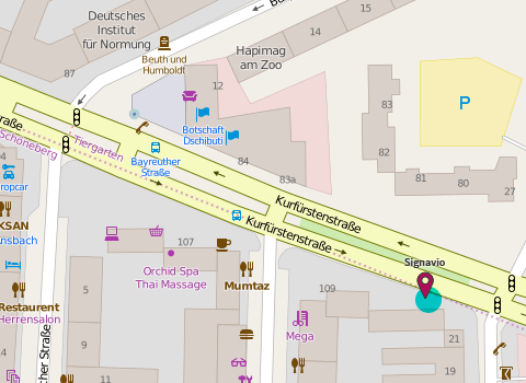 Map of Signavio Berlin