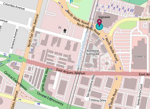Map of Signavio Sunnyvale