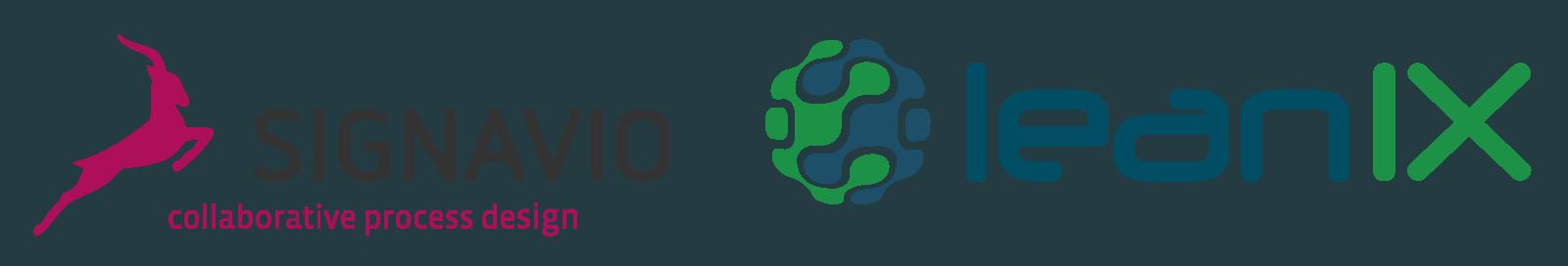 Signavio und LeanIX Logos