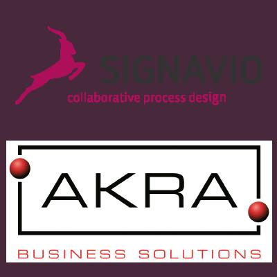 Gemeinsames Webinar von Signavio und AKRA Business Solutions
