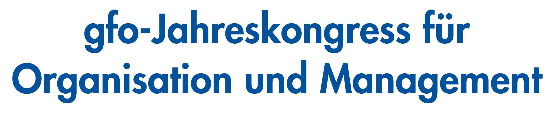 Logo gfo-Jahreskongress