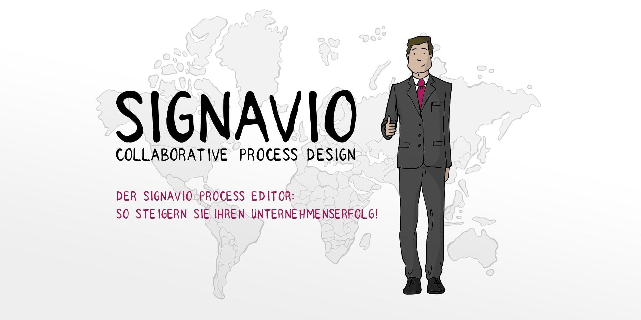 Signavio Process Editor Einführungsvideo – Der Signavio Process Editor – So steigern Sie Ihren Unternehmenserfolg!