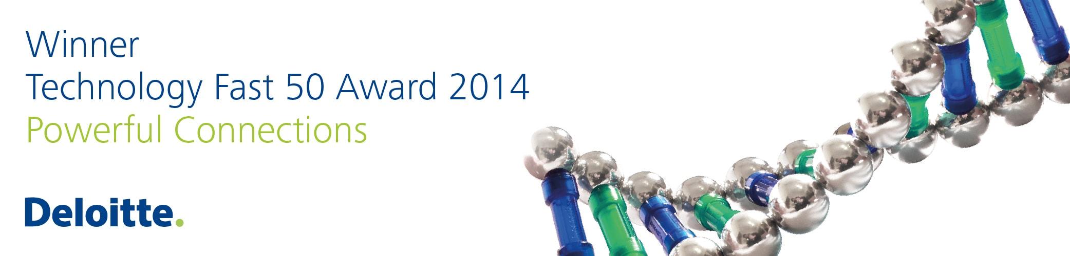 Deloitte Fast 50 Award