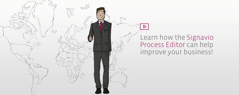 Process modeling mit Signavio Process Editor Video Logo