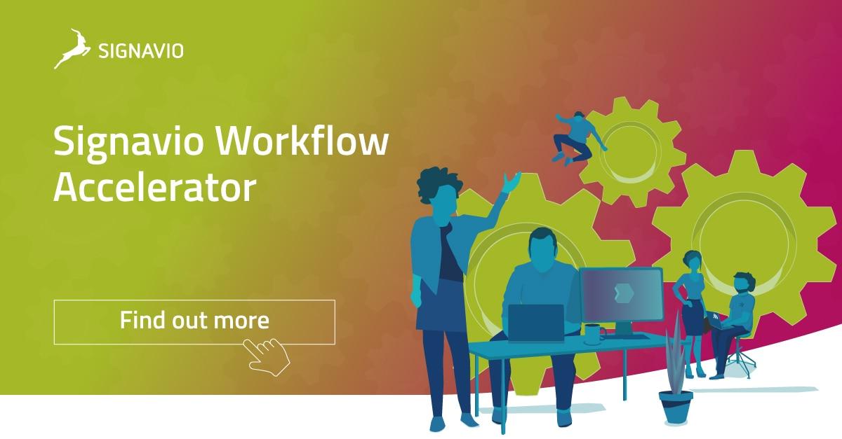 signavio workflow accelerator