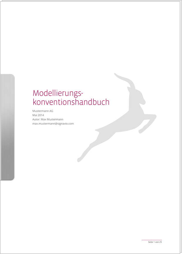 Cover Vorschaubild Modellierungskonventionenhandbuch