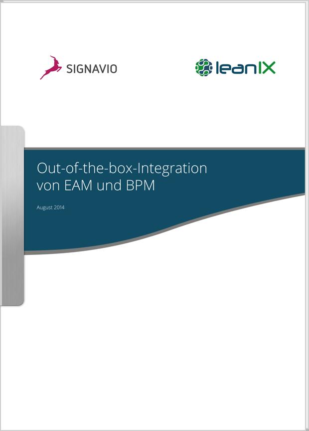 Vorschaubild: Whitepaper Out-of-the-box-Integration von EAM und BPM
