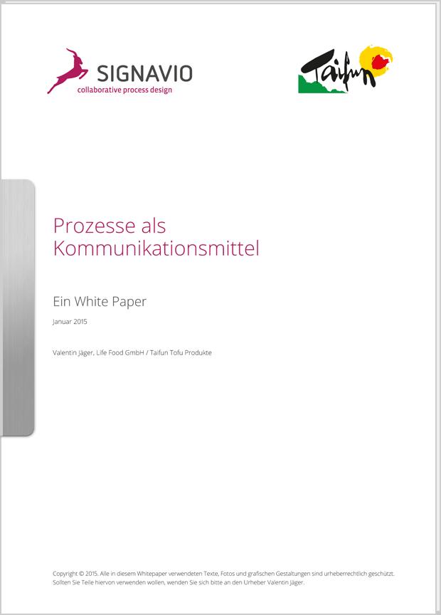 Vorschaubild: Whitepaper Prozesse als Kommunikationsmittel