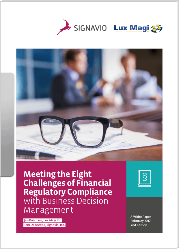 White Paper Meeting the 8 Challenges of Financial Regulatory Compliance with BDM preview