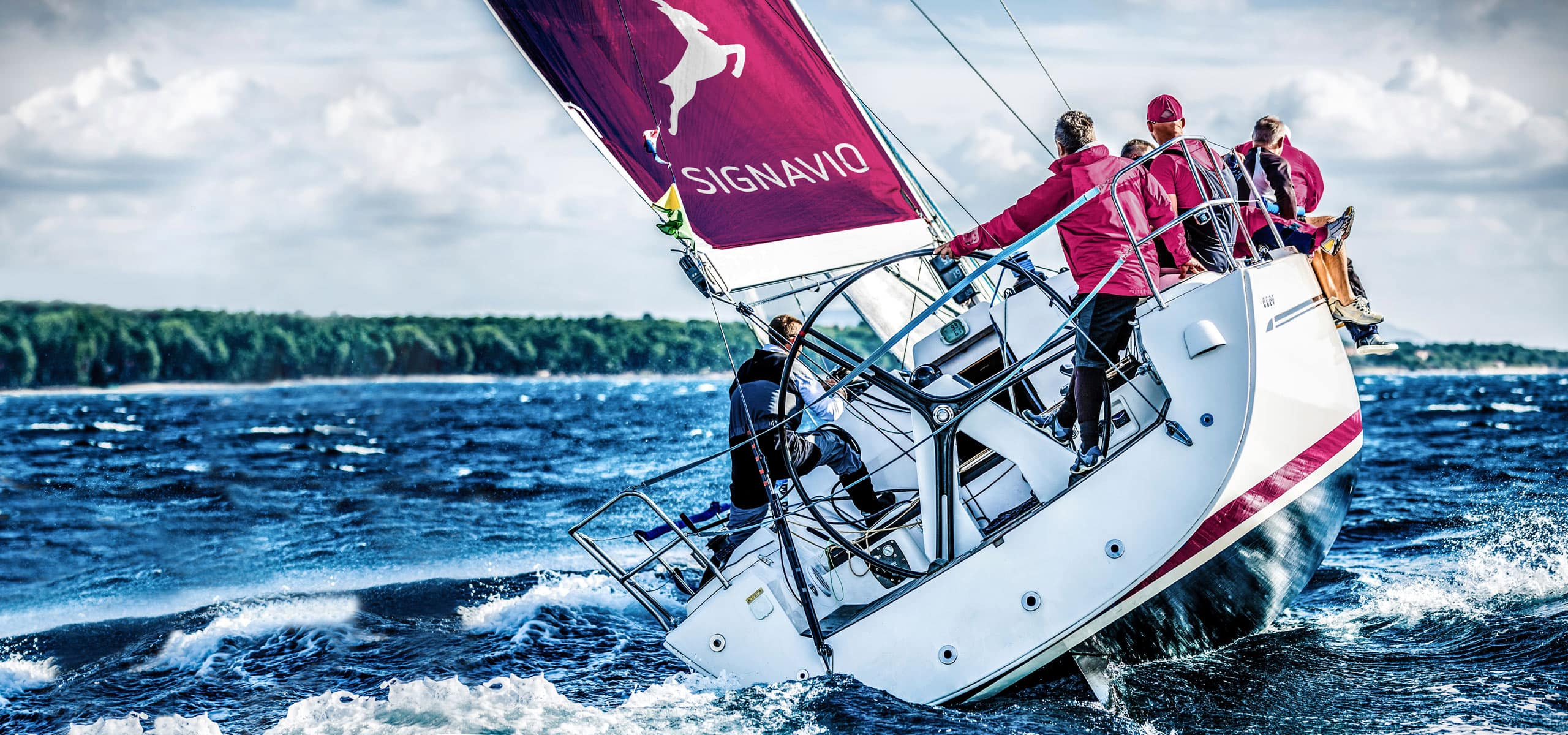 How Business Decision Management simplifies the organization of a sailing regatta.