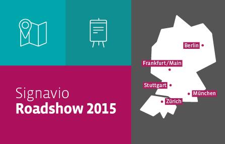 Signavio Roadshow 2015 Grafik