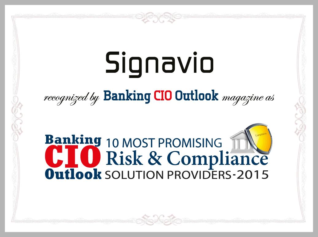 Banking CIO Outlook
