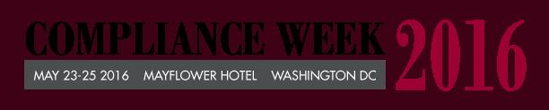 Compliance Week 2016 Logo