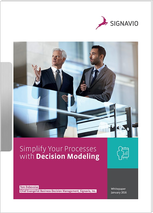 Cover preview: Simplify processes with DMN