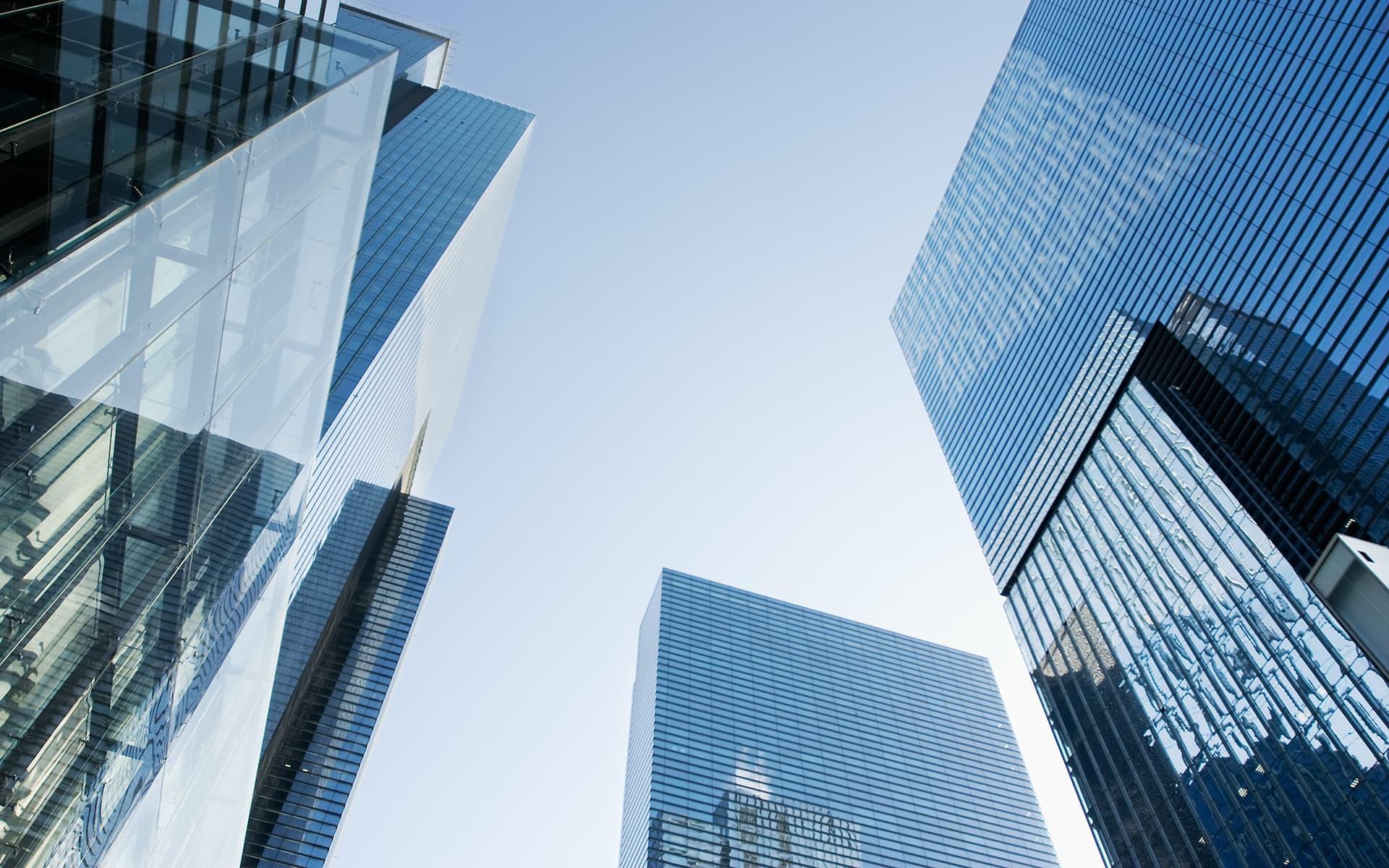 Enterprise Achitecture Management und BPM - Architektur von mehreren Wolkenkratzern