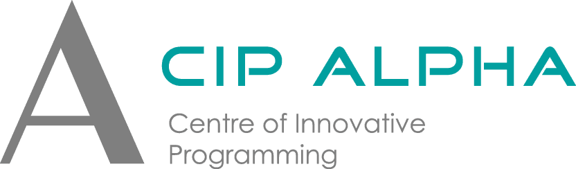 Cip Alpha Logo englisch