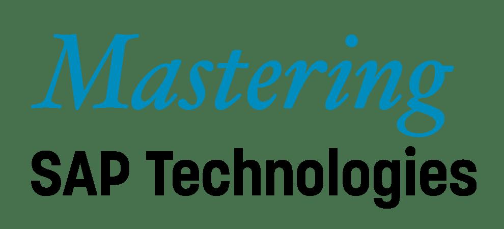 Mastering SAP Technologies
