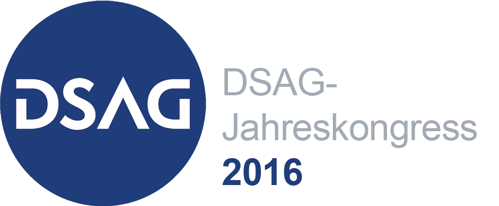 Event Logo DSAG Jahreskongress 2016