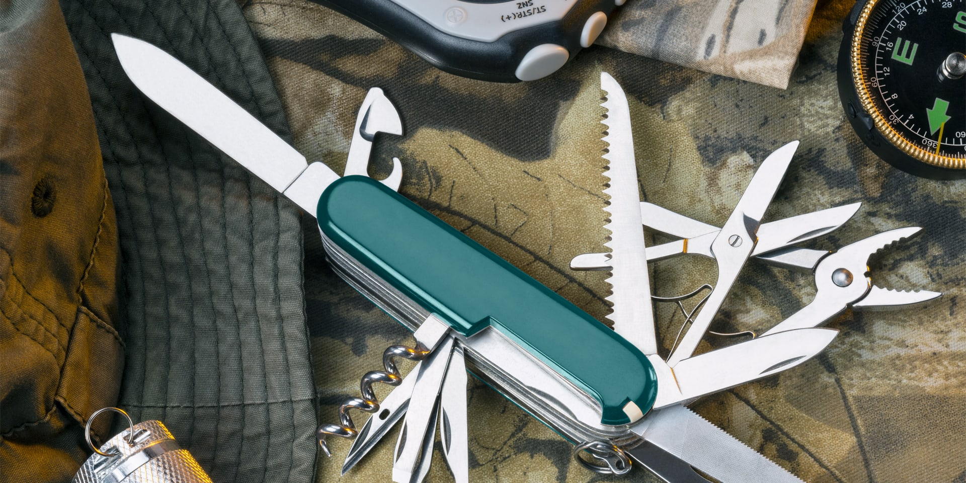 BPM for Business Opportunities - opened swiss knive with all tool features