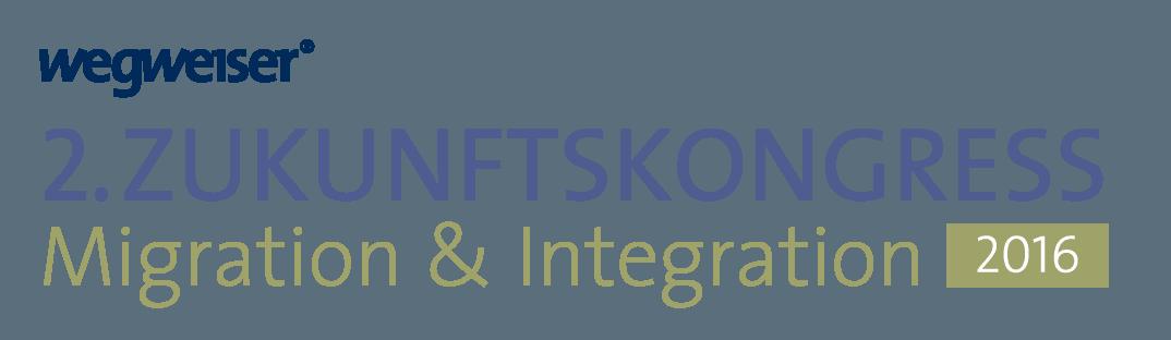 Logo 2. Zukunftskongress Migration und Integration