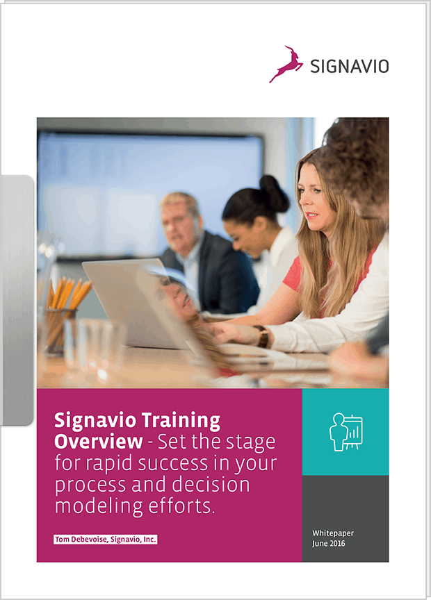 Whitepaper: Signavio Training Overview