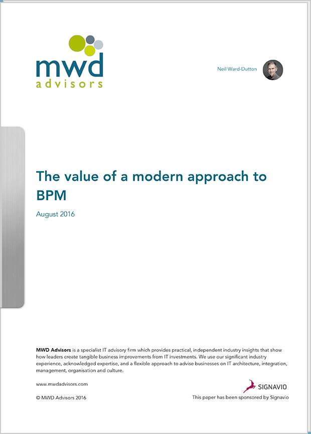 White Paper: MWD report 2016