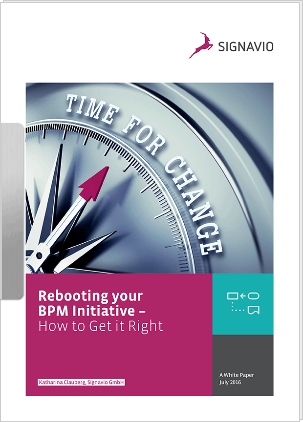 White Paper: Rebooting your BPM Initiative