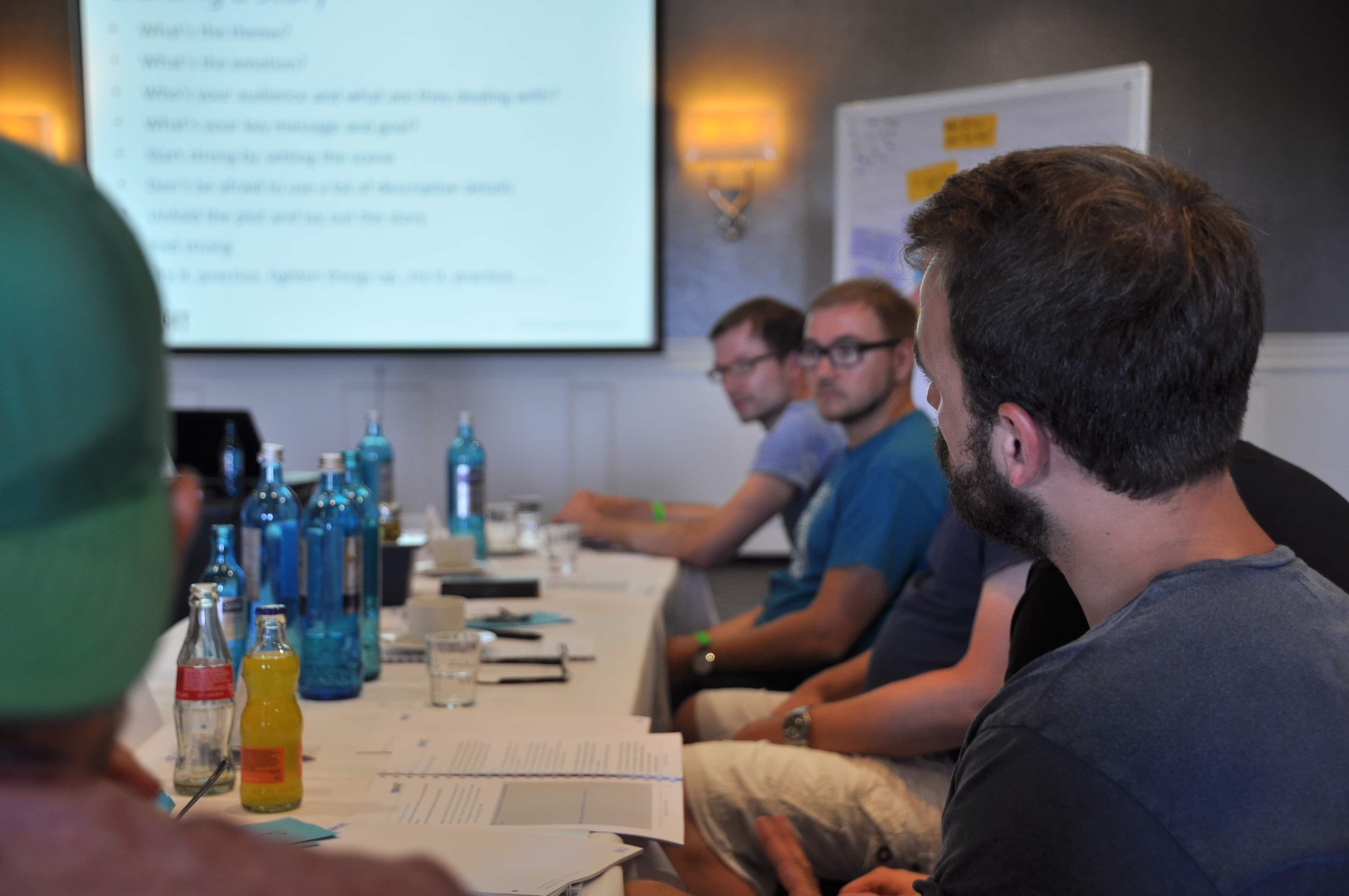 Signavio Sales team training