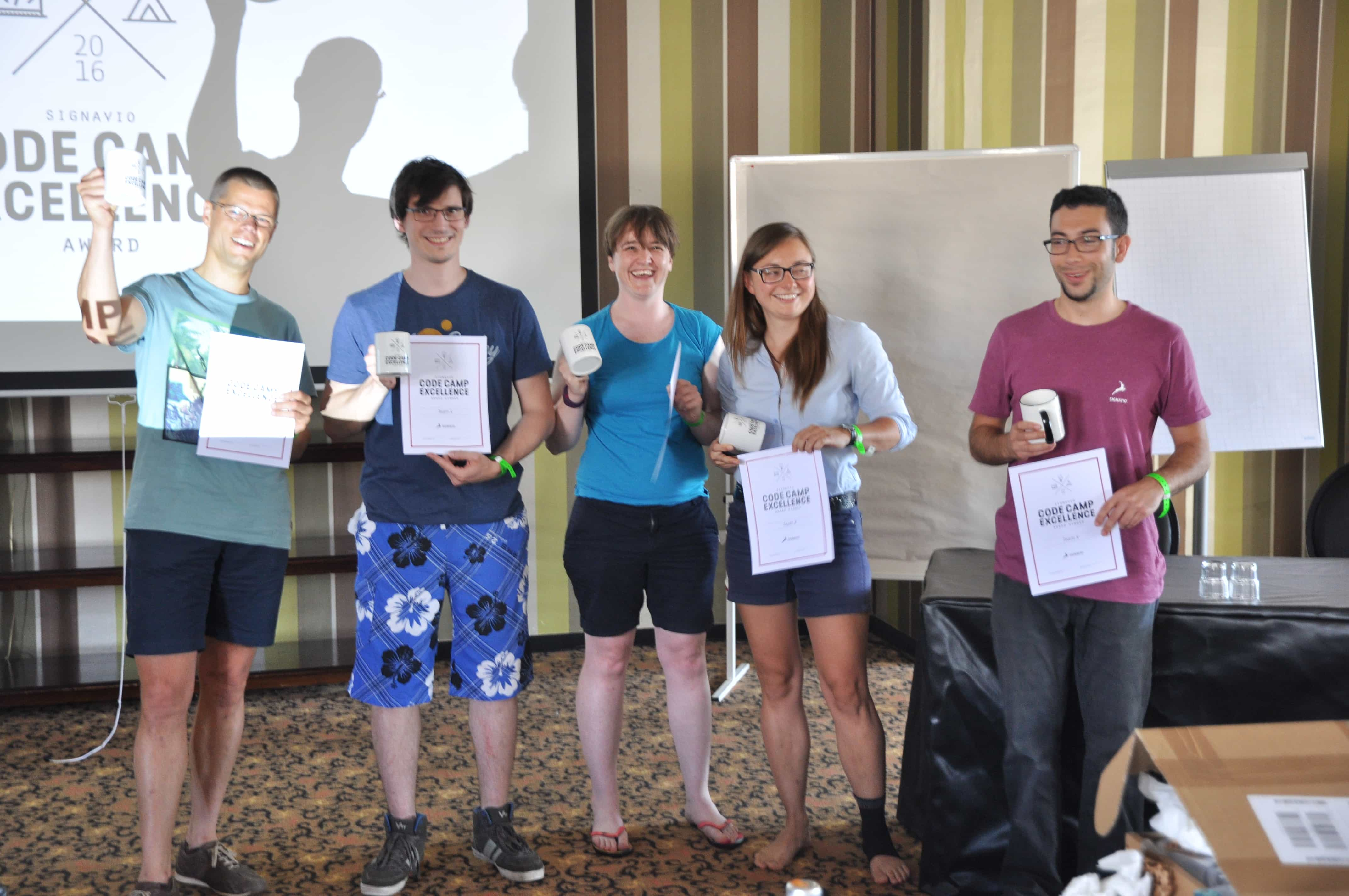 Signavio code camp winners