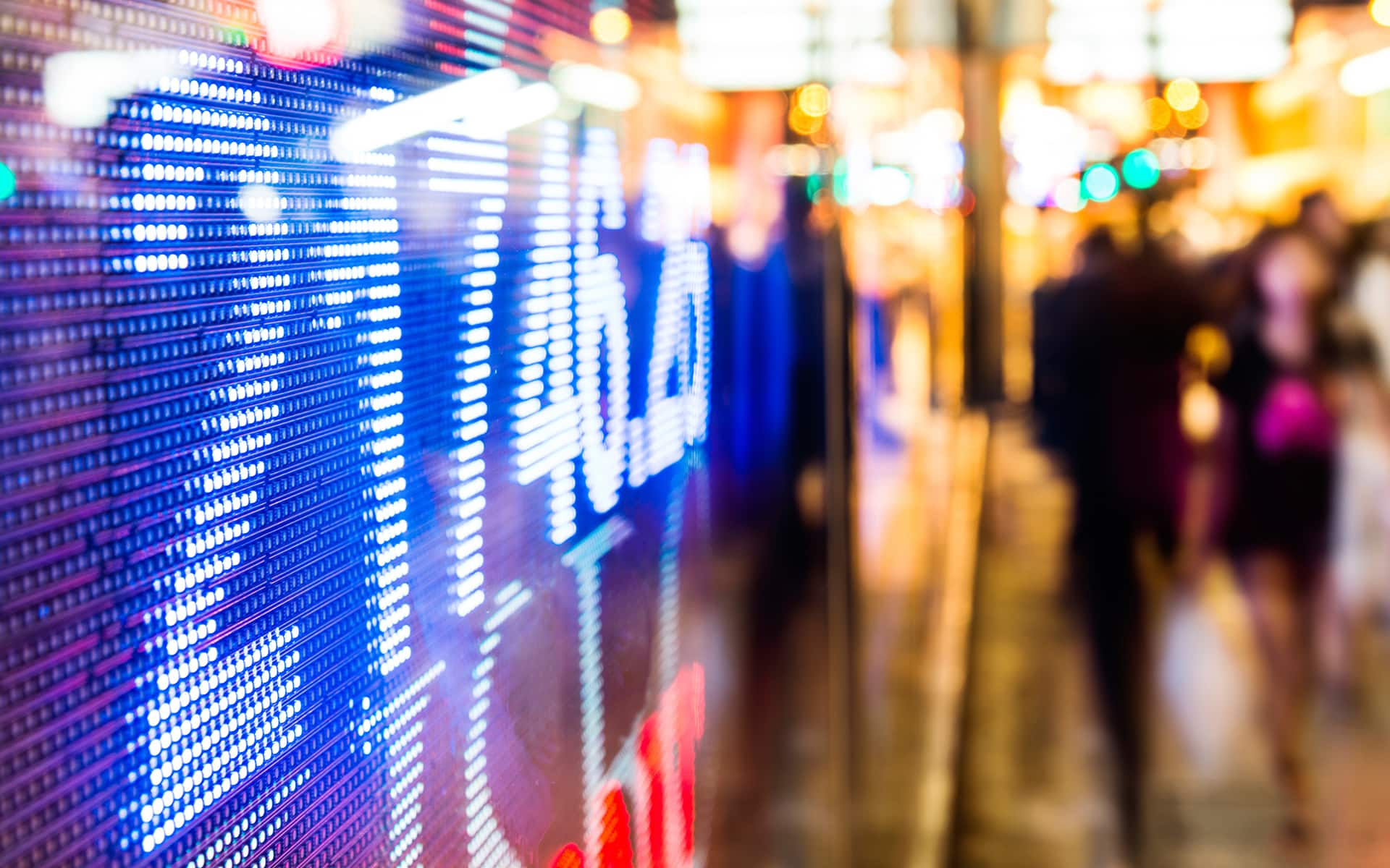 process thinking insurance: digital display