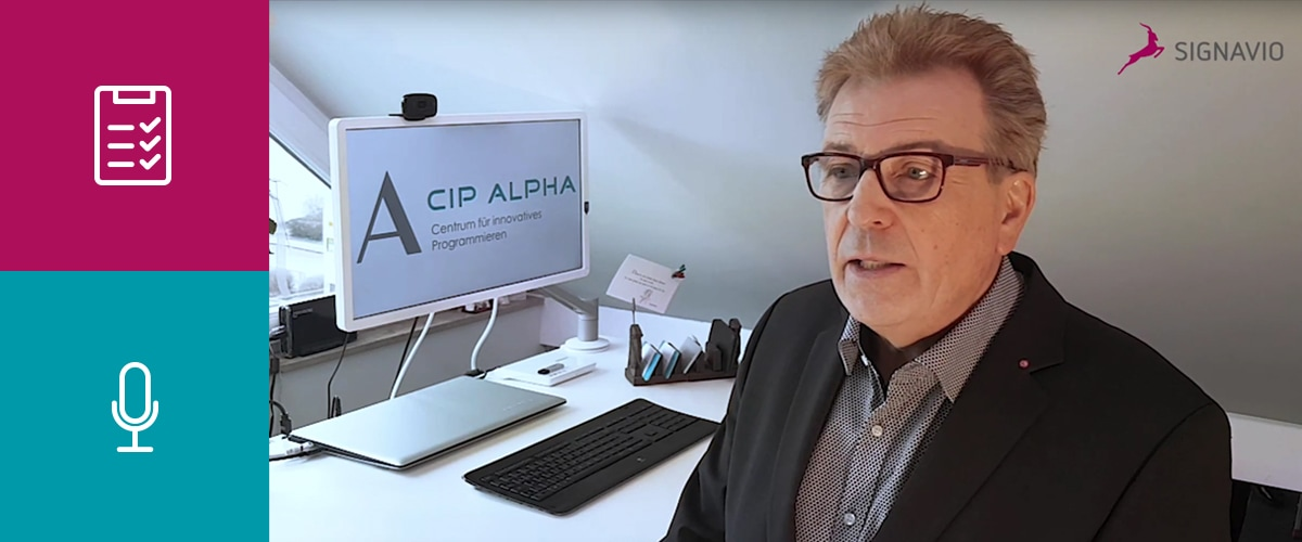 compliance-standards - interview with cip alpha CEO Guido Lange