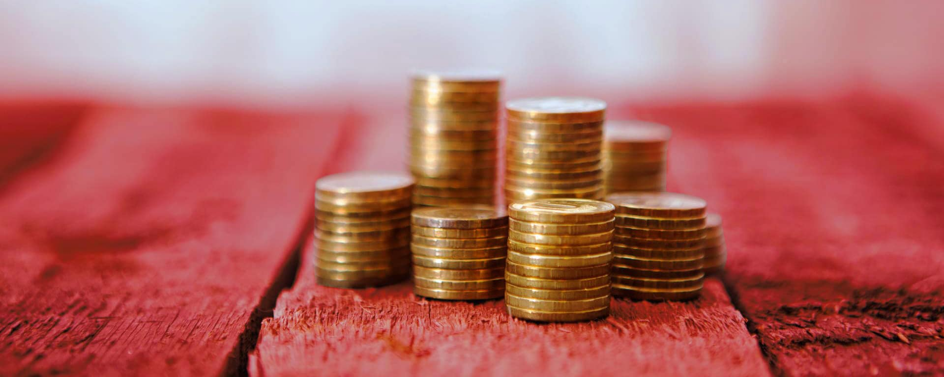 business decision management blog image - pile of coins