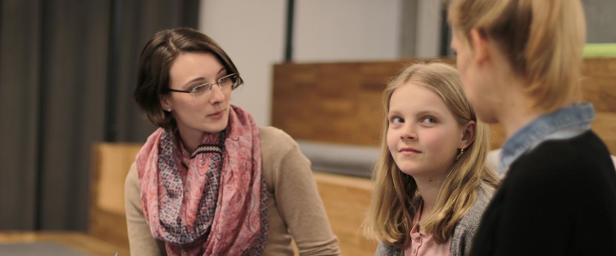 Girls' Day bei Signavio: Emilie, Henny und Anne im Gespräch