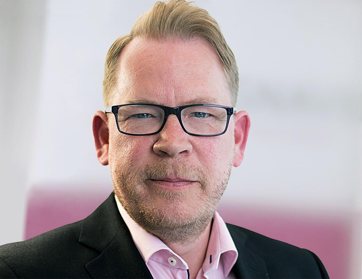 Portrait image of Ian Pollard