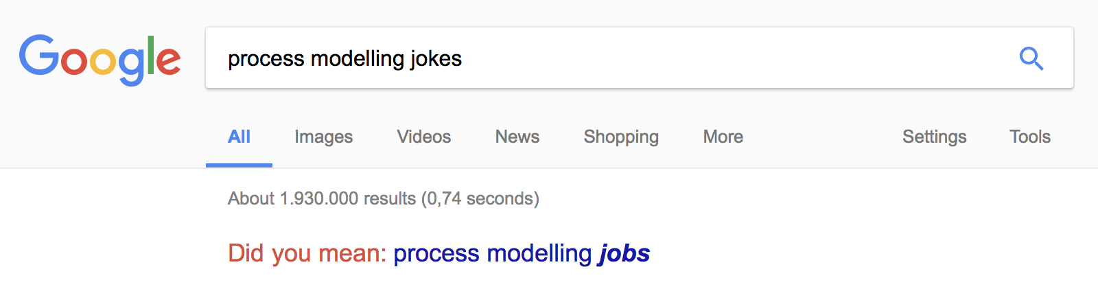 process modelling jokes