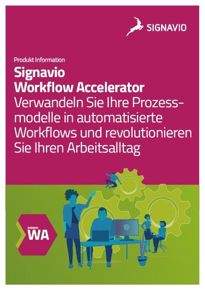 Workflow Accelerator Produktinformation