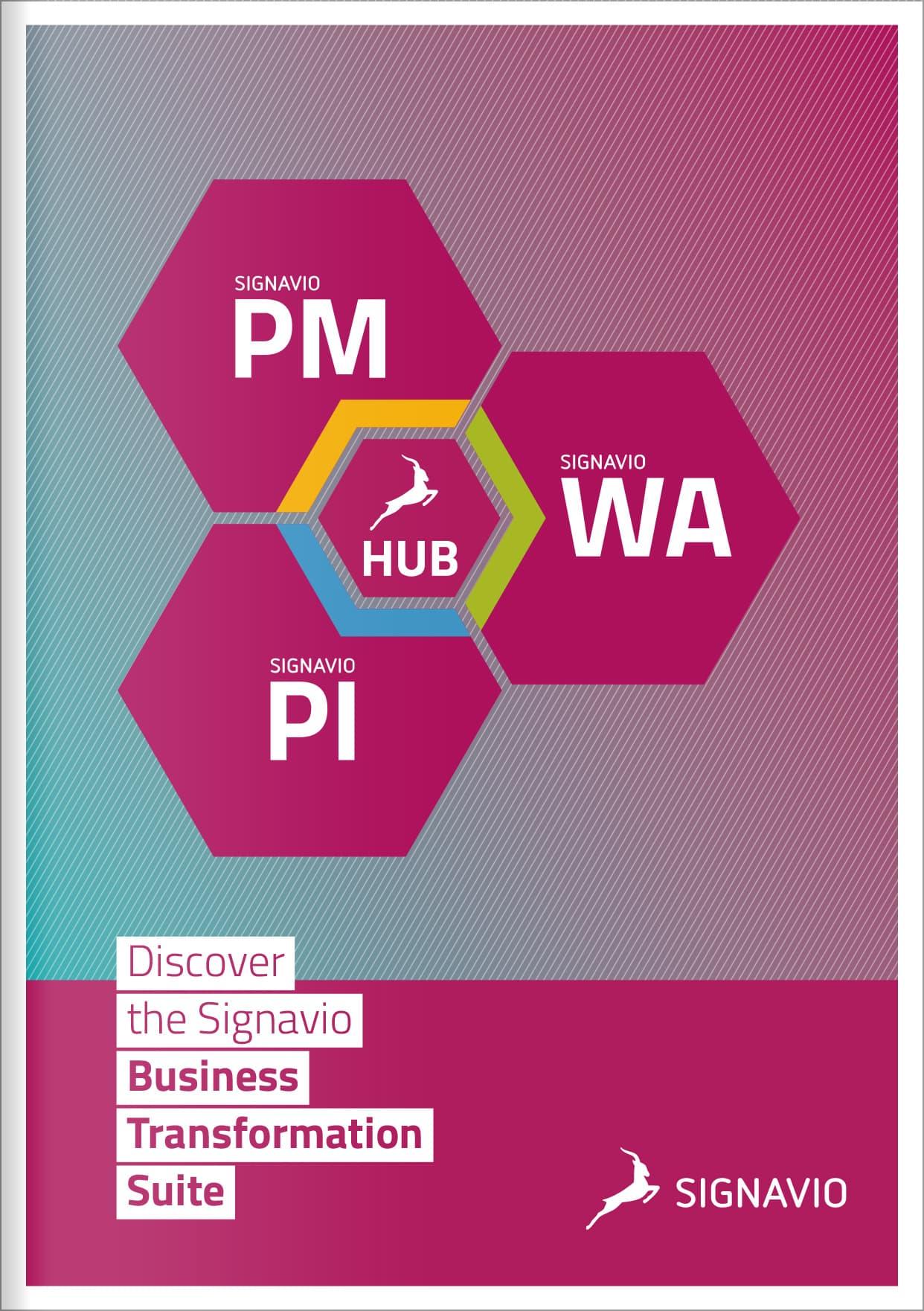 business transformation suite brochure preview