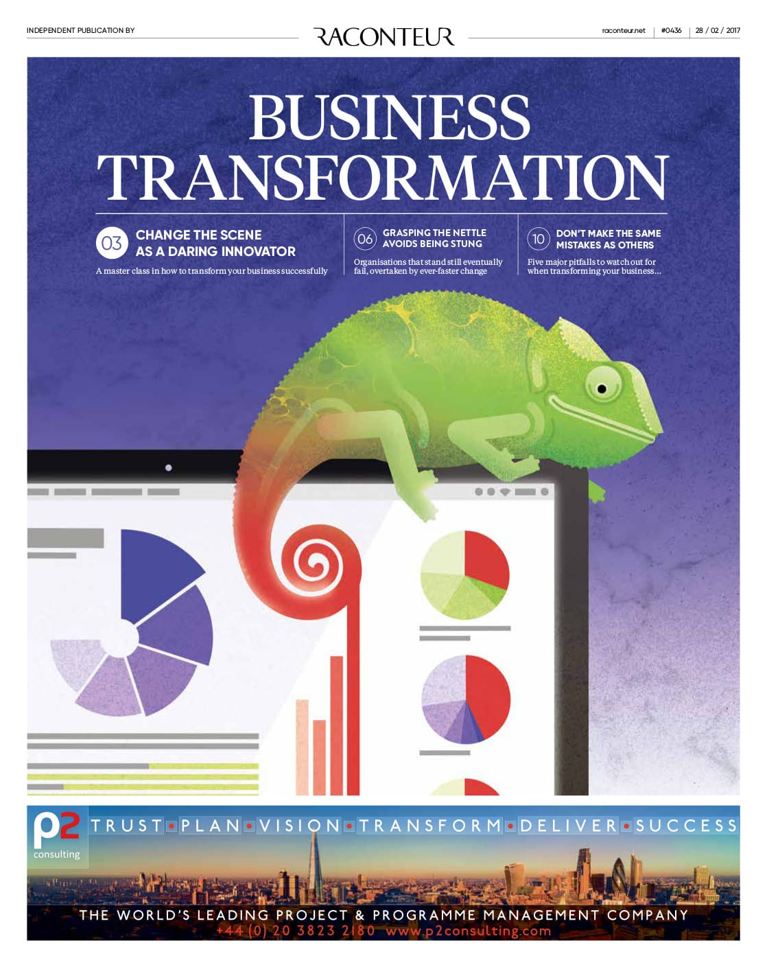 Business Transformation - Taking a collaborative approach to change