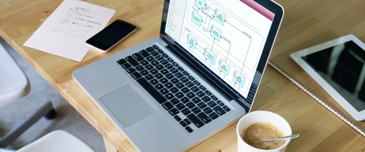 Business Goals Modeling Processes with ArchiMate on a Notebook