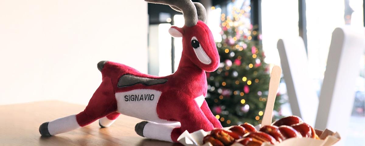 Signavio Gazelle, Currywurst, Christmas tree