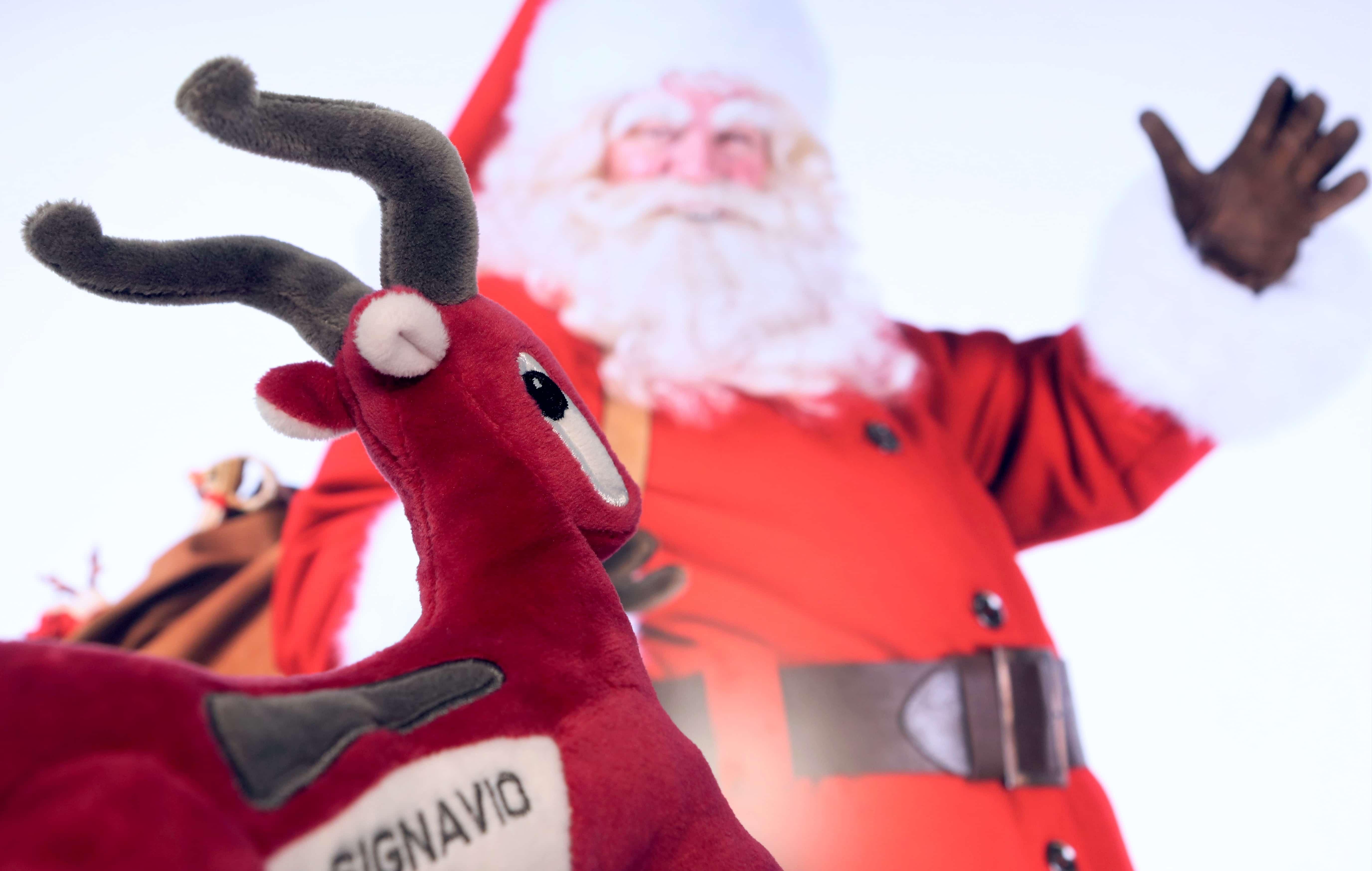 Signavio Gazelle looking at Father Christmas