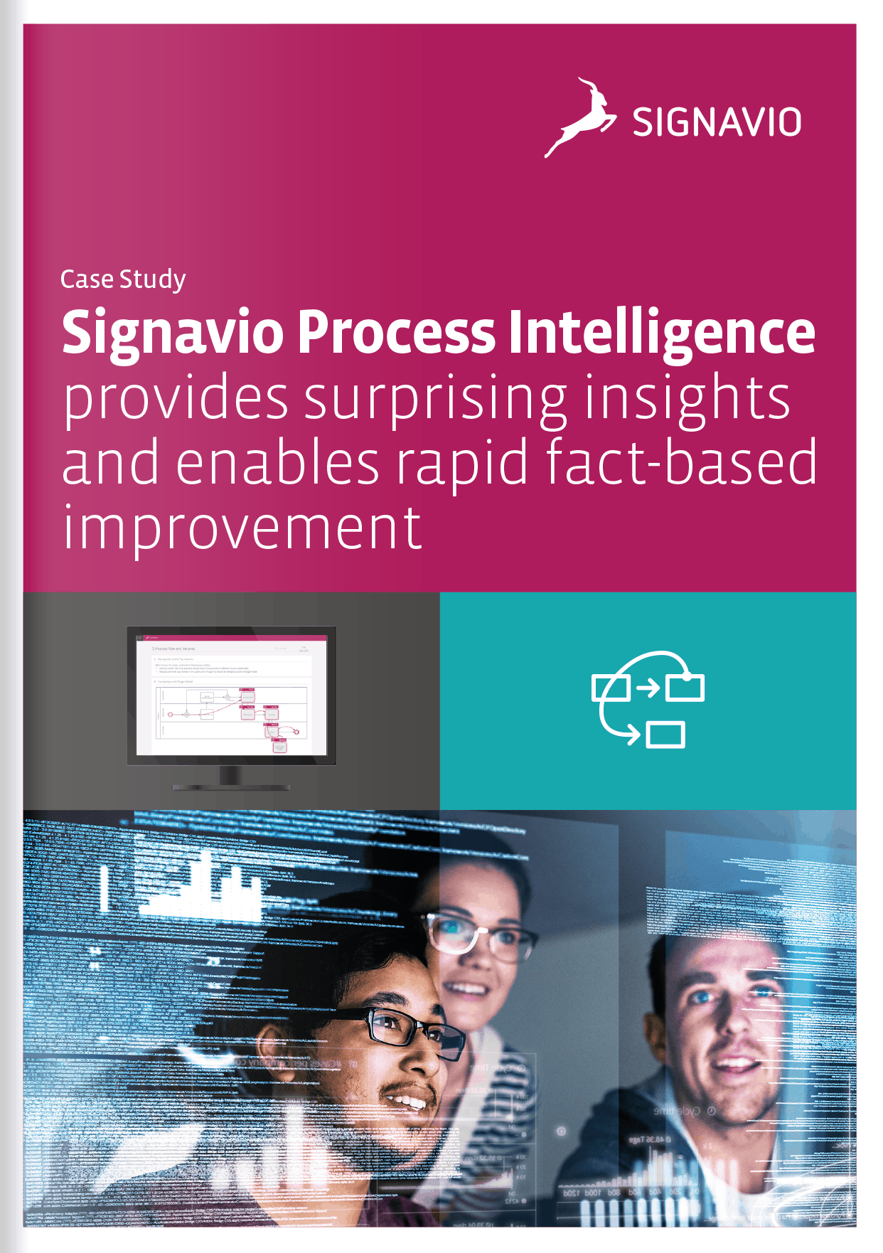 case study about process mining with Signavio
