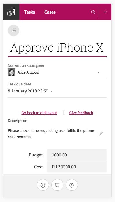 Task view screenshot