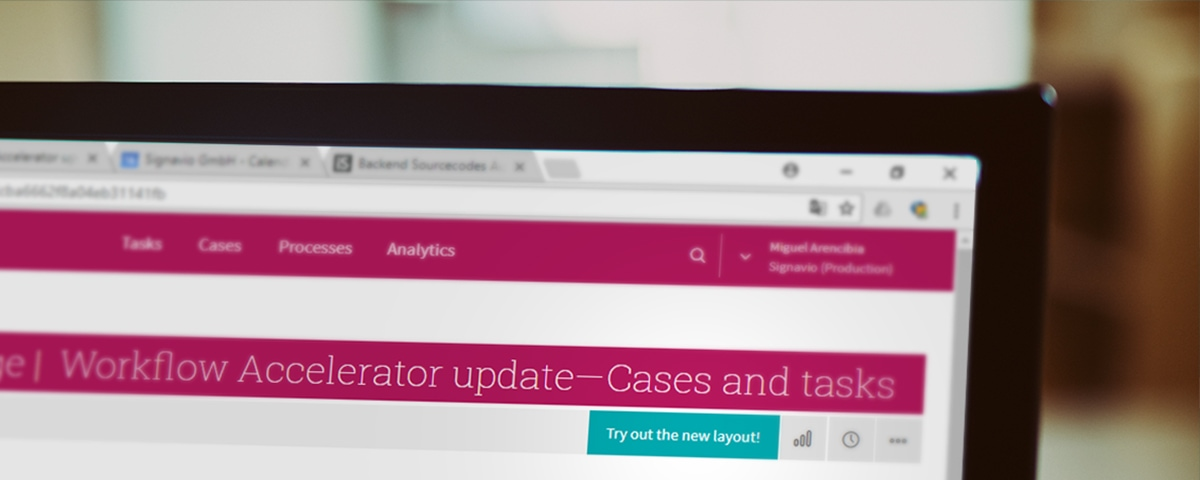 Workflow Accelerator Screenshot