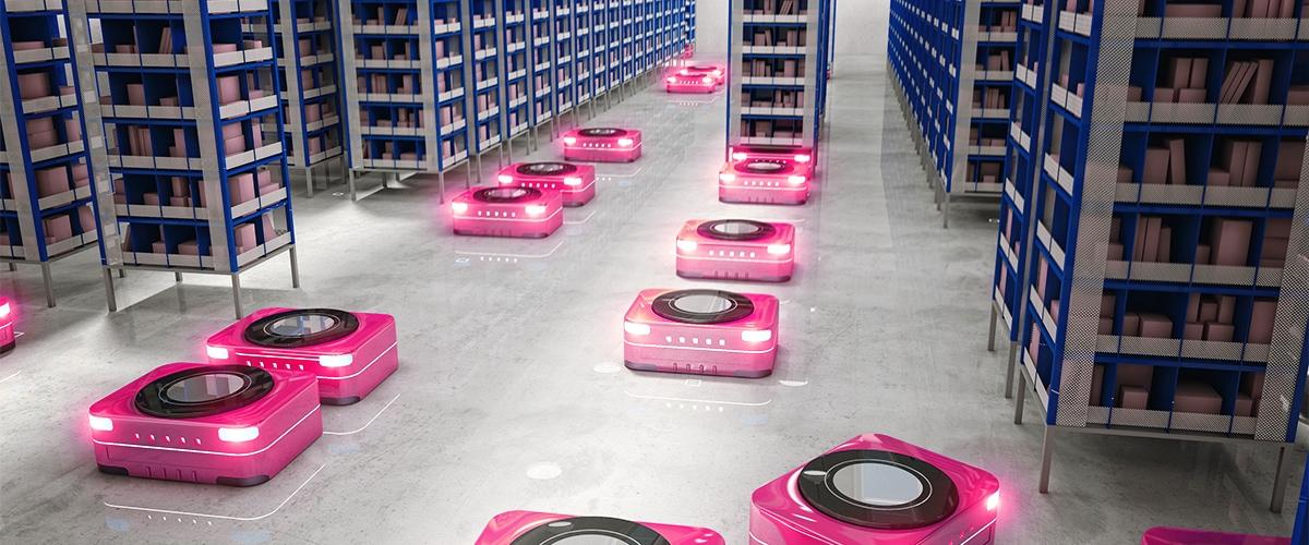 Scheduled workflows - warehouse robots