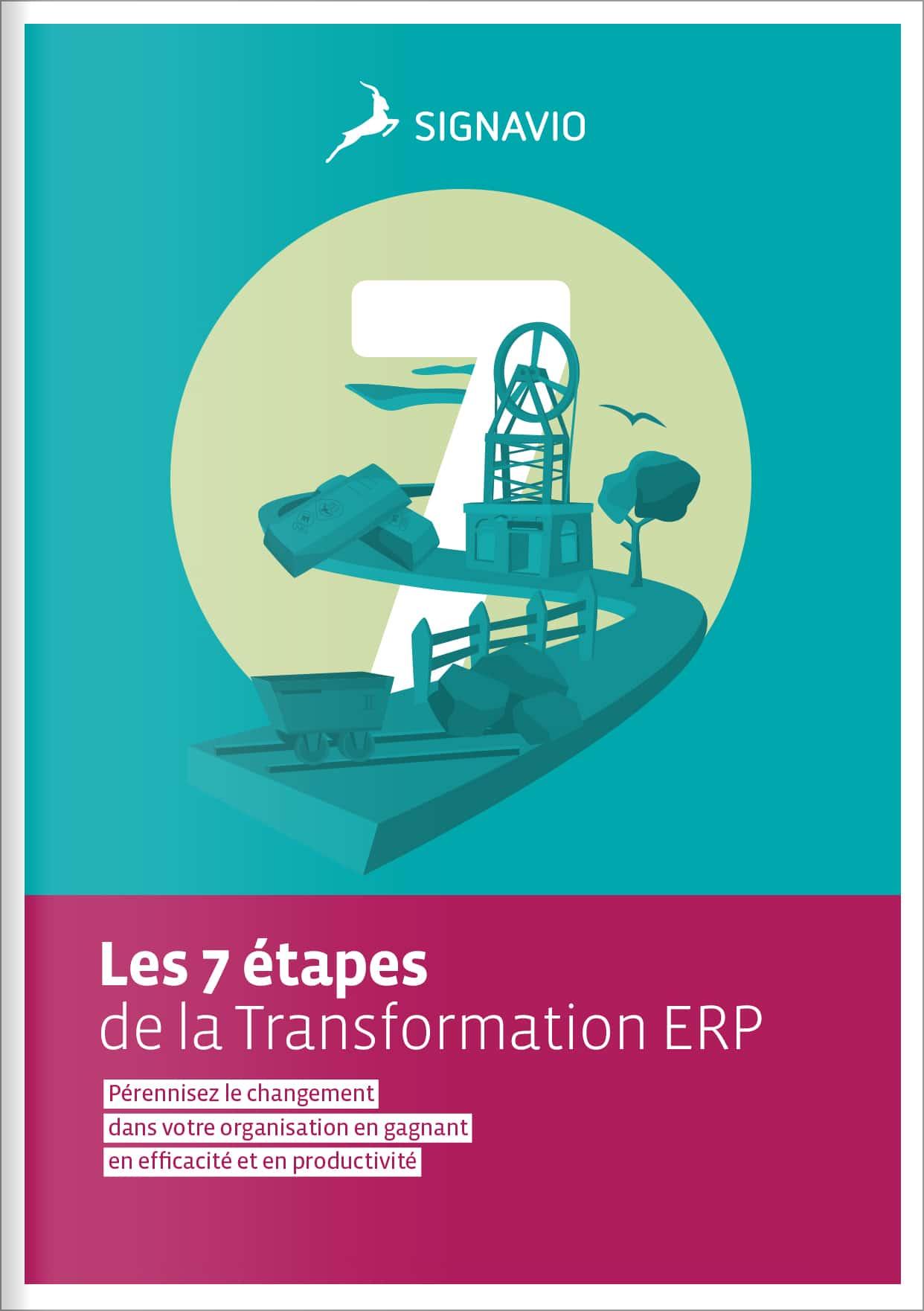 Les 7 étapes de la Transformation ERP - Livre Blanc Cover