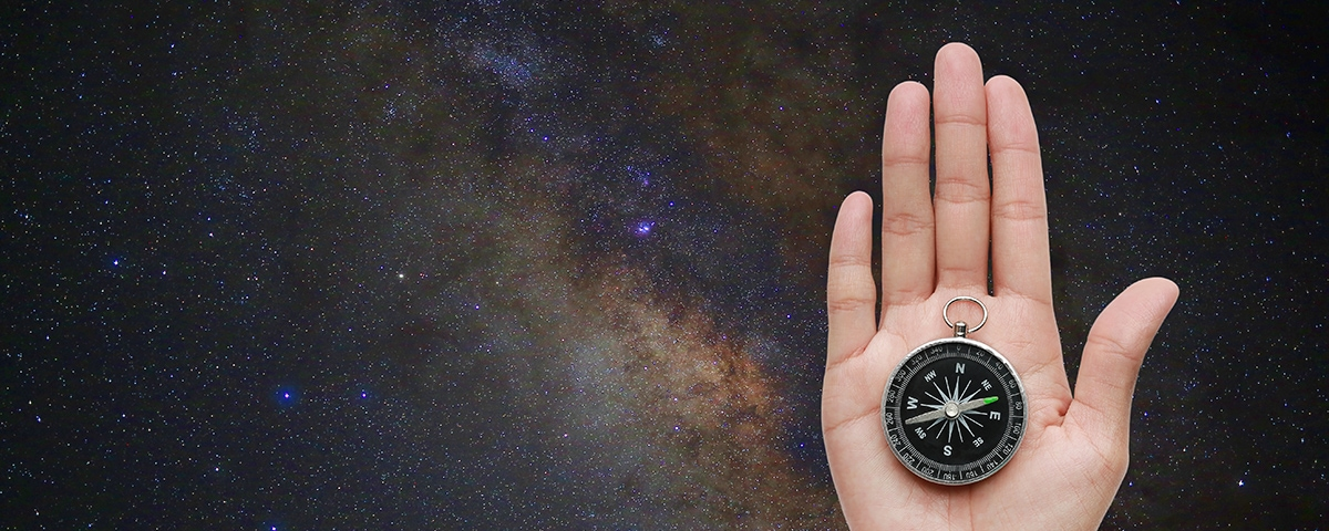 Customer Centric - holding a compass to the stars