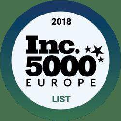 Inc. 5000 Europe logo
