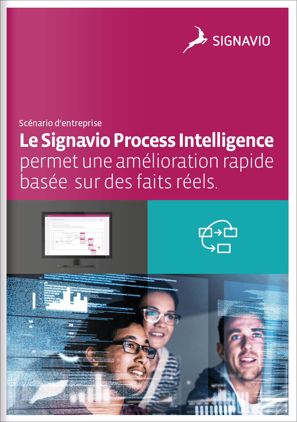 Cover image of a case study about Process Intelligence